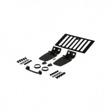 accessoire de capot kit noir, 98-06 Jeep Wrangler
