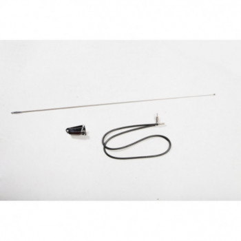 antenne chromée Kit, 76-95 Jeep CJ5 CJ7 & Wrangler YJ