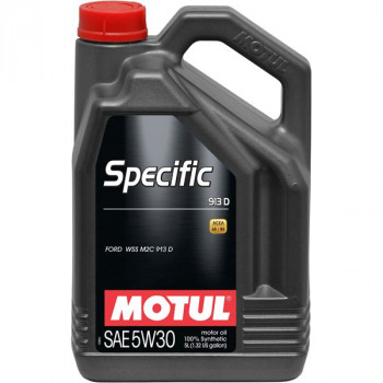 HUILE MOTEUR MOTUL 5W30 FORD 913D SPECIFIC (5 litres)
