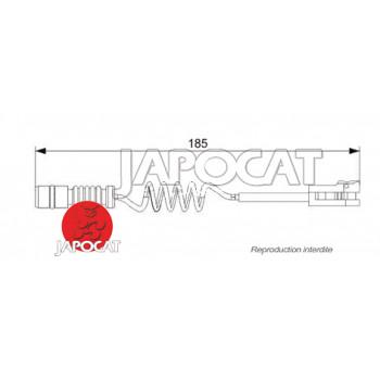 TEMOIN d'USURE de PLAQUETTES ARRIERE MERCEDES G W463