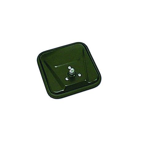 glace de retroviseur noire, 55-86 CJ Models