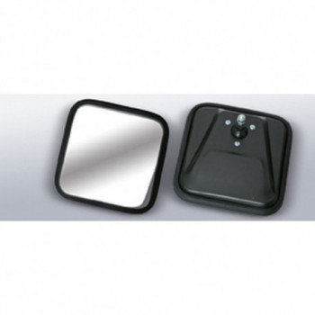 glace de retroviseur noir glace convex, 55-96 Jeep CJ5 CJ6 CJ7 & Wrangler YJ