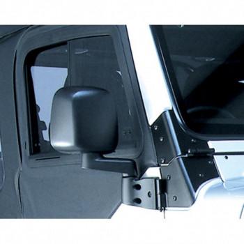retroviseur noir droit, 87-06 Wrangler