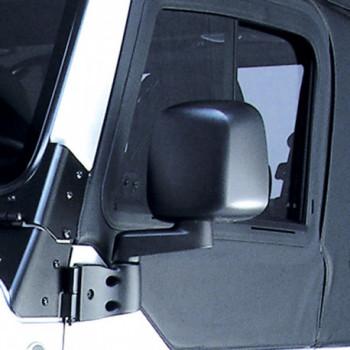 retroviseur noir gauche, 87-06 Jeep Wrangler