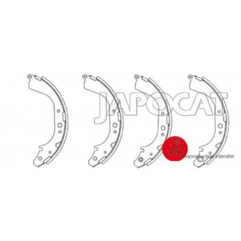MACHOIRES de FREIN EBC (le jeu) TOYOTA HILUX - LANDCRUISER - 4RUNNER