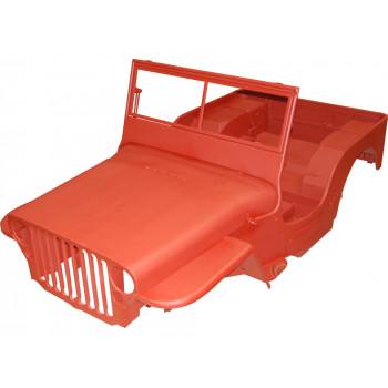 carrosserie en metal Kit, 44-45 Jeep Willys MB