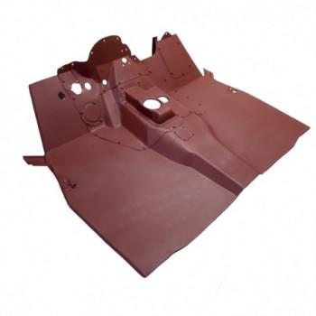 panneau plancher avant, 50-52 JEEP Willys M38