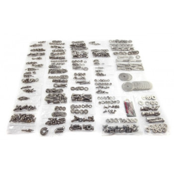 visserie INOX de carrosserie kit, a/hayon 55-75 Jeep CJ5 and CJ6