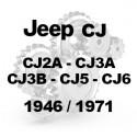 CJ2A CJ3A CJ3B CJ5 CJ6 1946-1971