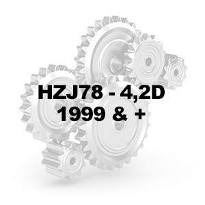 HZJ78 4.2D 1999 & +