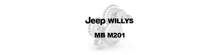 JEEP WILLYS MB M201