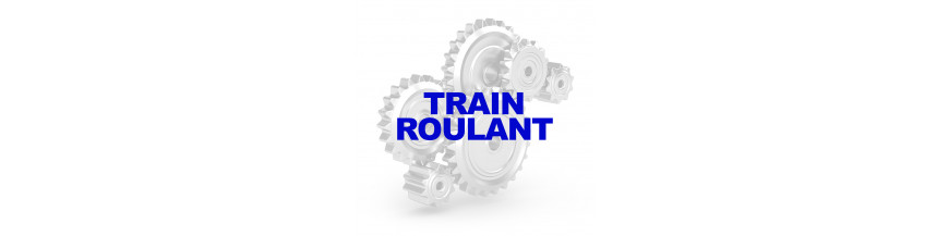 TRAIN ROULANT JEEP CJ 46-71