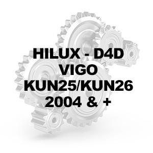 HILUX - D4D - KUN25/KUN26 - 2005-2015