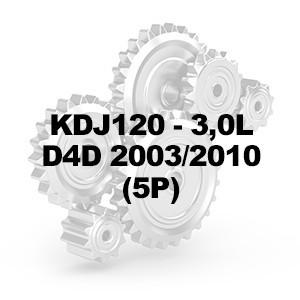 KDJ120 3.0L D4D 2003-10 (5P)