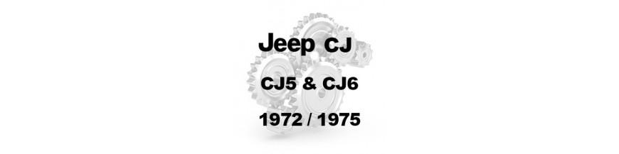 CJ5 & CJ6 1972-1975