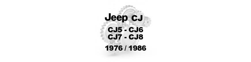 CJ5 CJ6 CJ7 CJ8 1976-1986